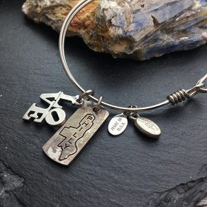 Philly love charm bracelet